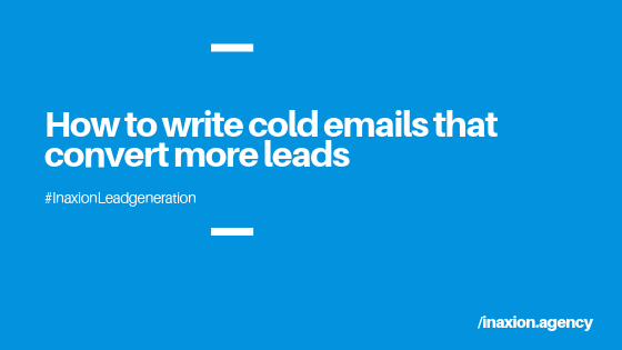 How to Write Cold Email Copy that Closes More Sales